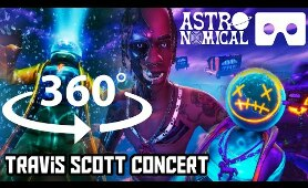 360 Degree TRAVIS SCOTT Astronomical Fortnite CONCERT Close up VR | Live Music Event | REPLAY