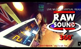 RawSound TV - Live Music in 360° VR Test Footage feat. BM4RK - 'Sky's on Fire'.