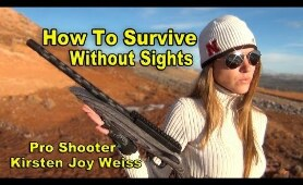 How To Survive Without Sights On Your Gun | Pro Shooting Tips #1
