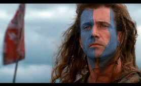 Braveheart: William Wallace Freedom Speech [Full HD]