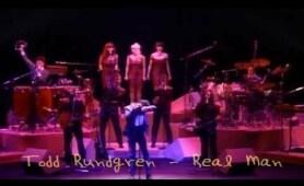 TODD RUNDGREN - REAL MAN - LIVE