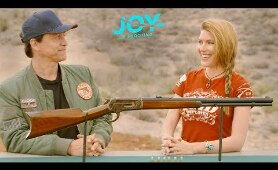Westworld & REAL Lever Actions! | Clifton Collins Jr. & Kirsten Joy Weiss