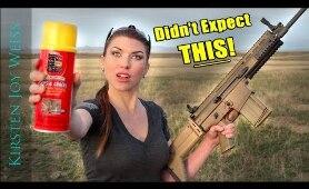 GUN VS Liquid FOAM - I Didn't Expect THIS To Happen!