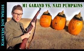 M1 Garand Vs. NAZI Pumpkins! - M1's Revenge | Kirsten Joy Weiss