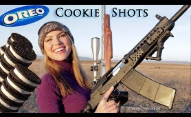 Oreo Cookie Shots | Trick Shots & Extra Fun