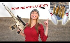 Bowling With... Bullets?!