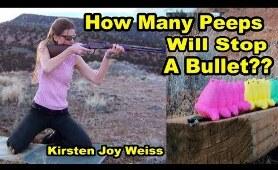 How Many Peeps Will Stop A Bullet?? | Peep Mayhem ep. 1