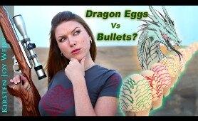 Gun Vs. DRAGON EGGS - MESSY!