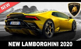 9 Upcoming Lamborghini Models Setting New Standards for Supercar Manufacturers in 2020