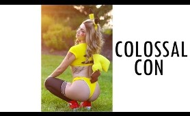 THIS IS SWIMSUIT COMIC CON COLOSSALCON 2019 COSPLAY MUSIC VIDEO VLOG ANIME CON COLOSSAL CON