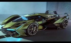 Lamborghini V12 Vision Gran Turismo presentation (2020)