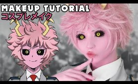 ☆ Mina Cosplay Makeup Tutorial My Hero Academia ☆