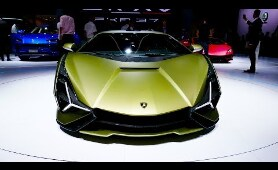 New Lamborghini Cars For 2020 At Frankfurt Motor Show 2019