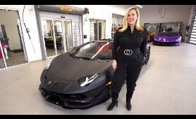 THIS Is The 2020 Lamborghini Aventador SVJ ROADSTER - In Nero Pulso!!!
