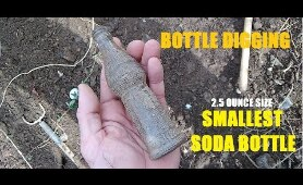 Ohio Bottle Digging - TINY 1922 Smile Soda Bottle - Antique Marbles - History Channel