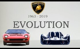 LAMBORGHINI  EVOLUTION (1963 - 2019)