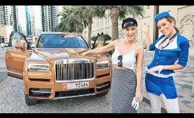 Free Rolls Royce Cullinan Rides!