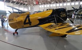 We Check Out An Amazing Vintage Airplane Collection At Fantasy Of Flight!