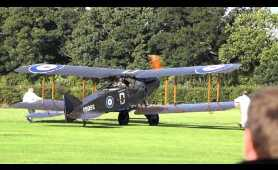 20 minutes Classic Aircraft Show, Excellent video from Shuttleworth Collection, Old Warden