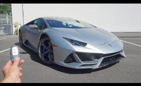 2020 Lamborghini Huracan Evo: Start Up, Exhaust, Walkaround and Review