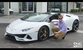 SUPERCAR MADNESS with the New Lamborghini Huracan EVO Spyder!