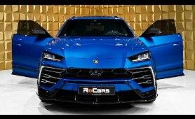 Lamborghini Urus Mansory (2020) - Beast from Mansory in Blu Eleos