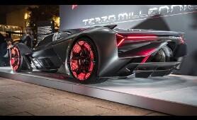 2019 Lamborghini Terzo Millennio - Self-Healing!!