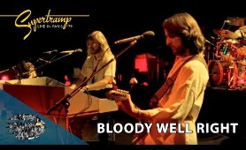 Supertramp - Bloody Well Right (Live In Paris '79)