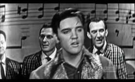 "Elvis Presley sings ""Don't Be Cruel"" live in concert and interview on Ed Sullivan HD"